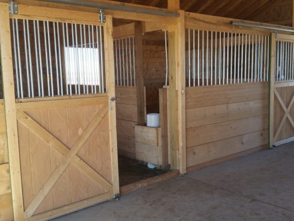 drinking_post_automatic_horse_waterer_installed_between_two_stalls_in_barn