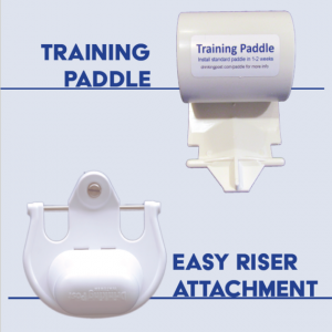 Training paddle vs. Easy Riser Attachment